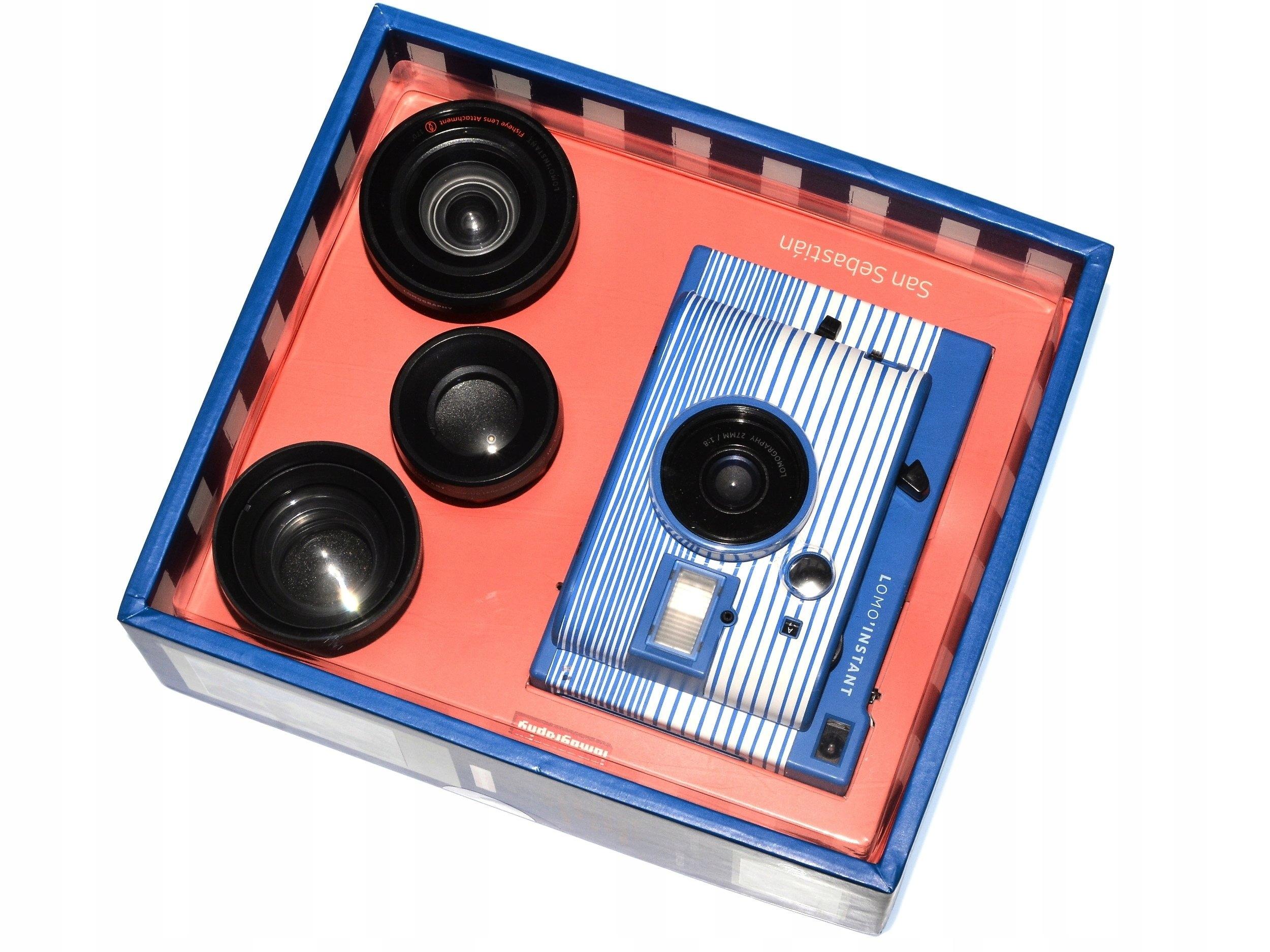 Lomography Lomo Instant Mini San Sebastian 3 Obiek 7094444945 Camera Lenses Edition