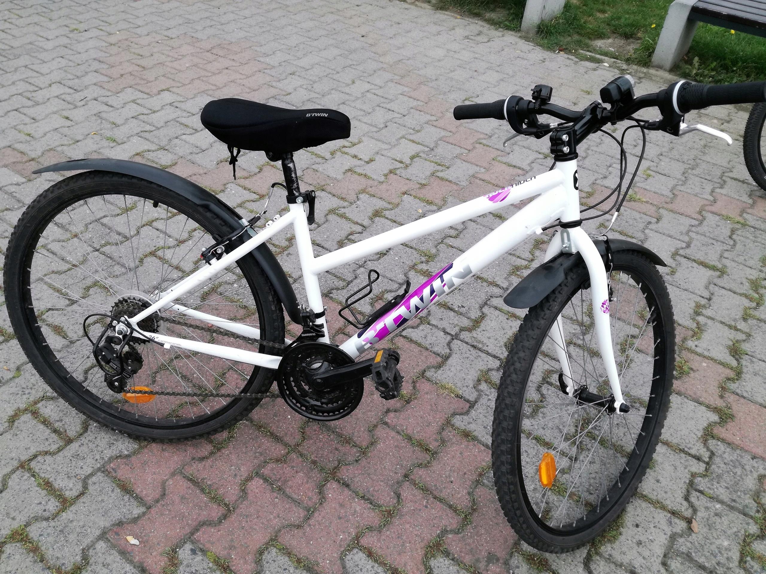 32541ecab Rower Górski MTB ROCKRIDER 300 młodzieżowy 26 - 7521274701 ...