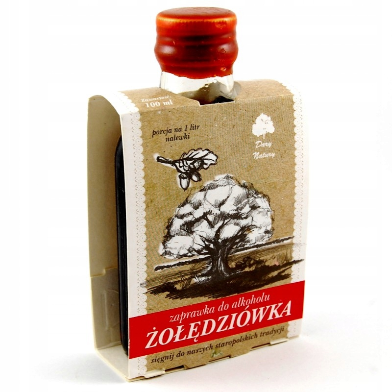 Żołędziówka - zaprawka do alkoholu 100 ml