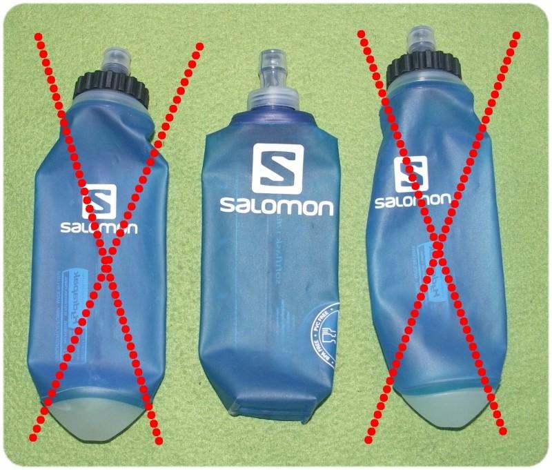 SALOMON - SOFLTFLASK BIDON SOFT FLASK - 500 ml