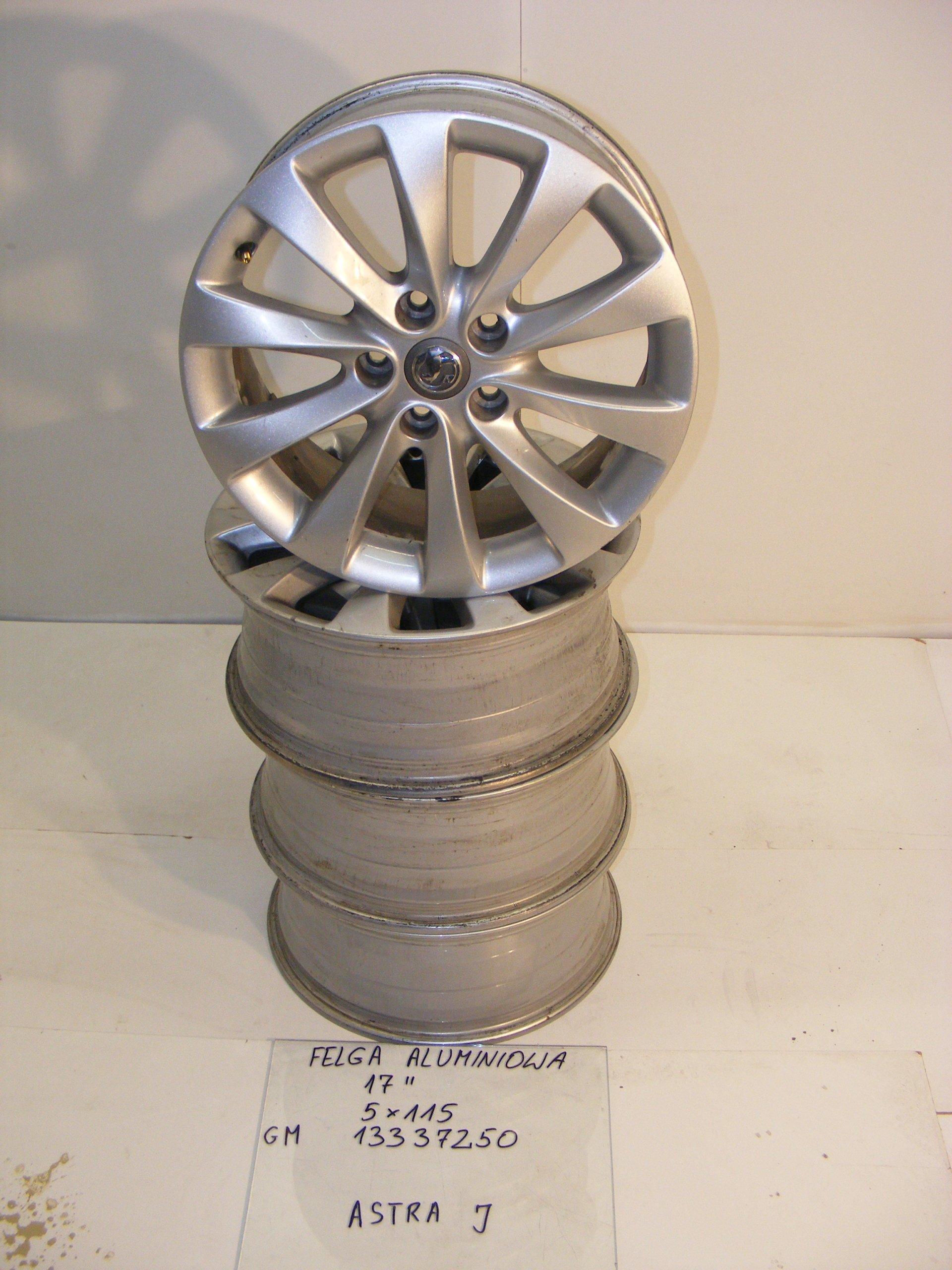 Opel Astra J Iv Felga Aluminiowa 17 5x115 7327726332 Oficjalne