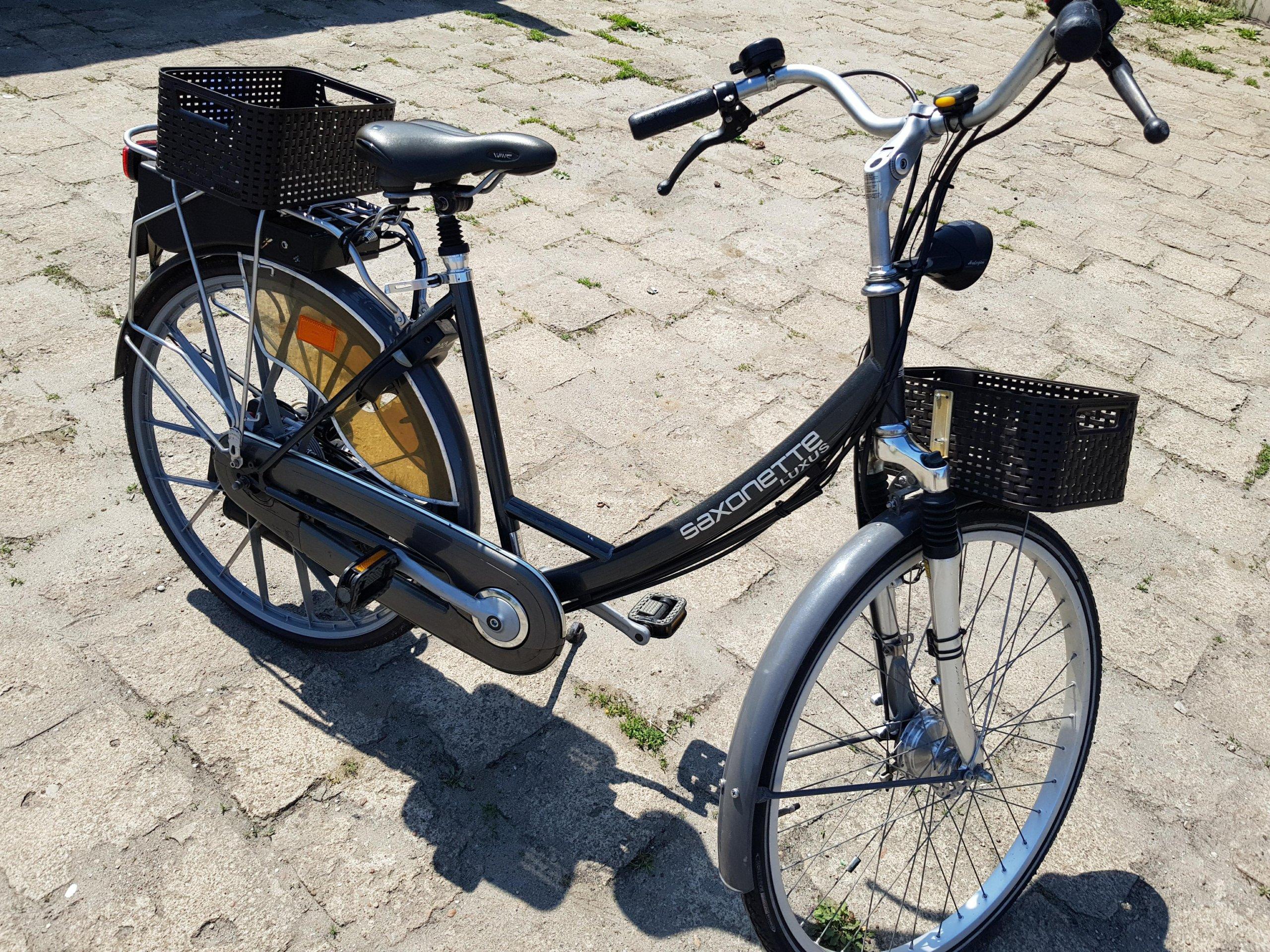 Rower spalinowy SAXONETTE