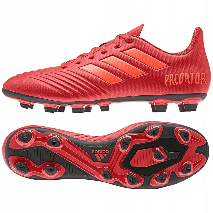 Buty adidas Predator 19.4 FxG D97970 40 czerwony