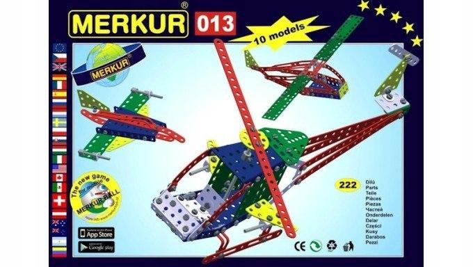 Zestaw Konstrukcyjny Helikopter MERKUR 013