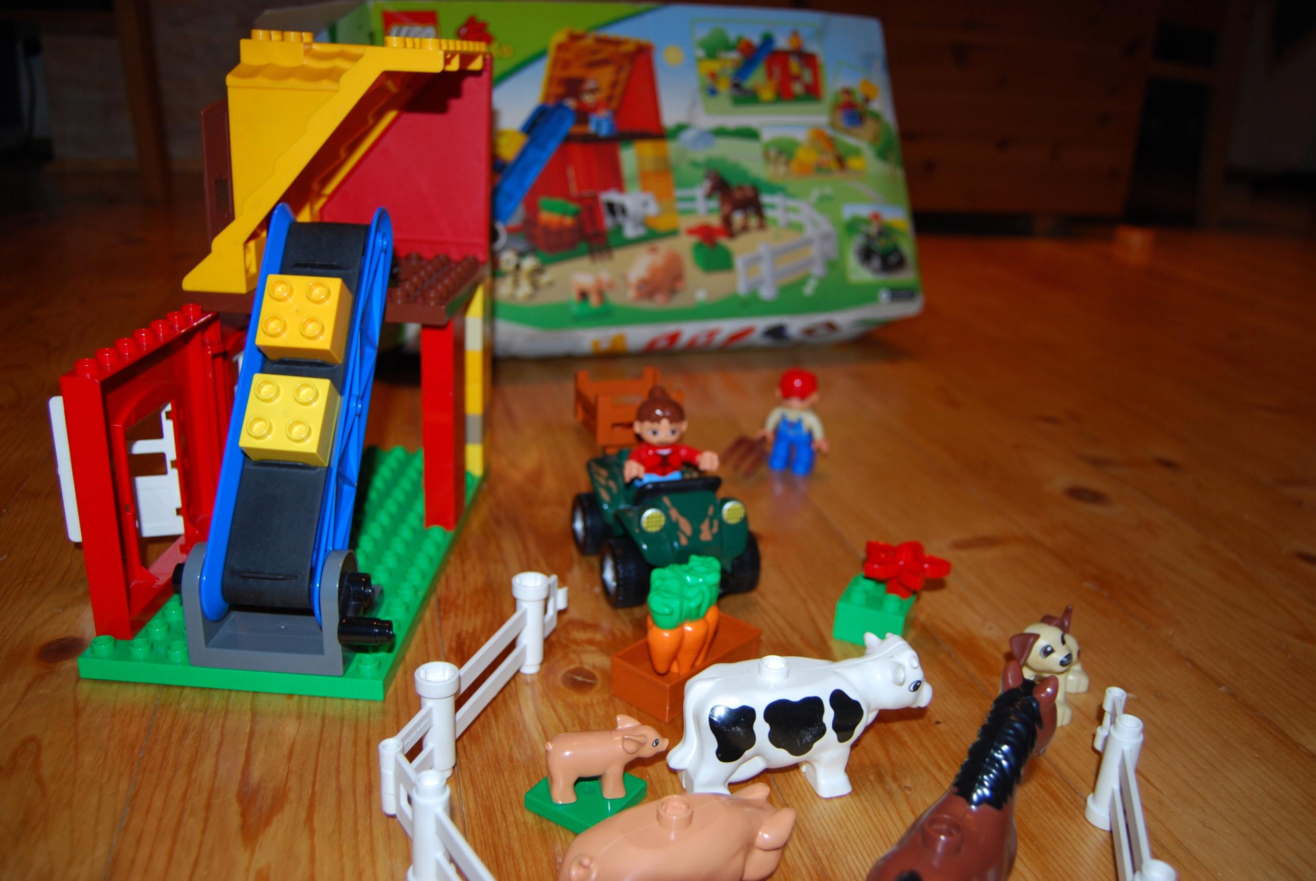 Lego Duplo 4975 Farma Zestaw 7699952867 Oficjalne Archiwum Allegro