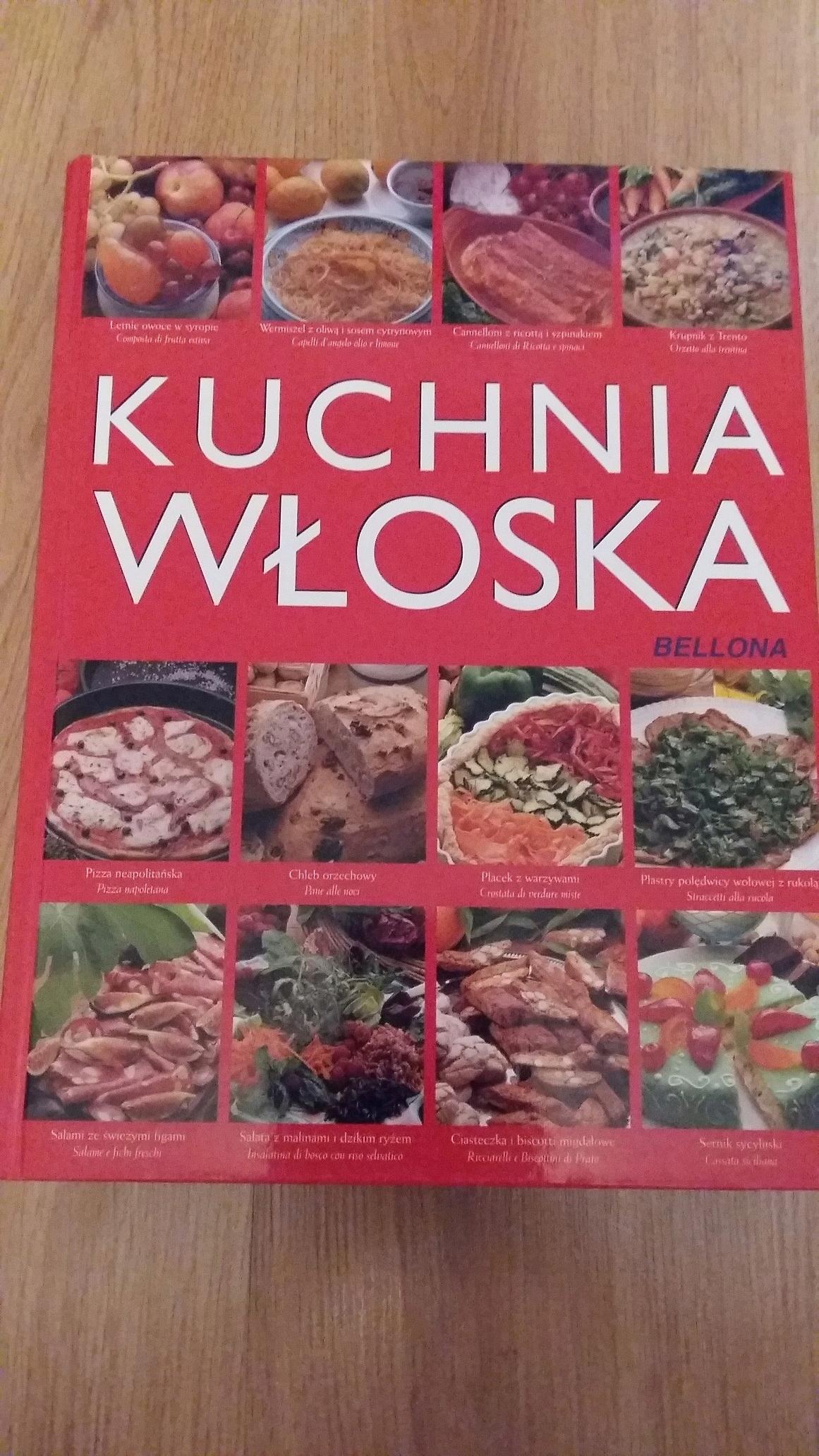 Kuchnia Wloska Wyd Bellona Ksiazka 7708319011 Oficjalne