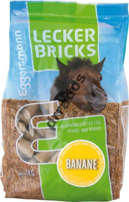 Smakołyk, przysmak, cukierki bananowe1 kg dla koni