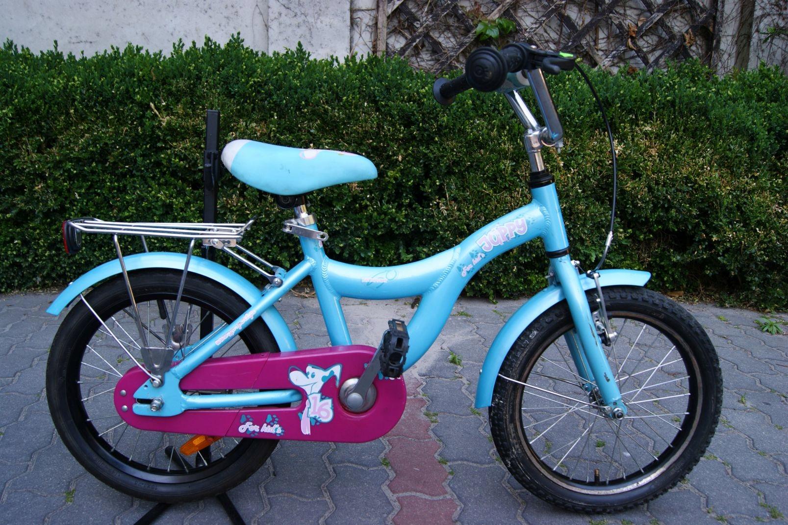 Aluminiowy rower dziecięcy Go Sport 16''koła - 7431123192