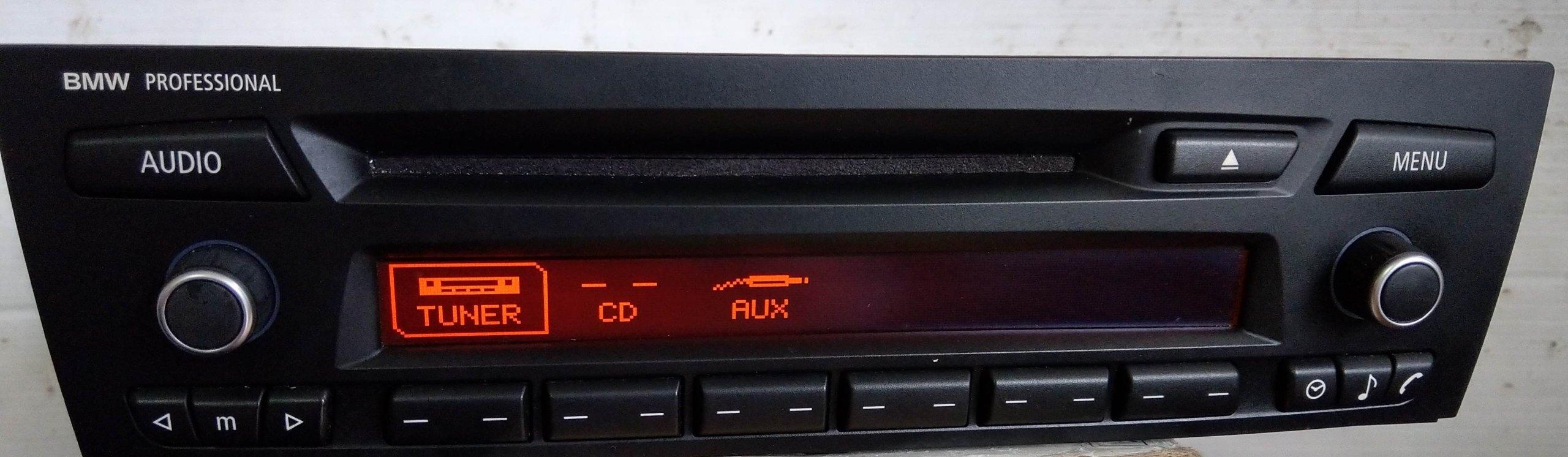 BMW PROFESSIONAL RADIO CD MP3 AUX BT USB - 7166552205 - oficjalne