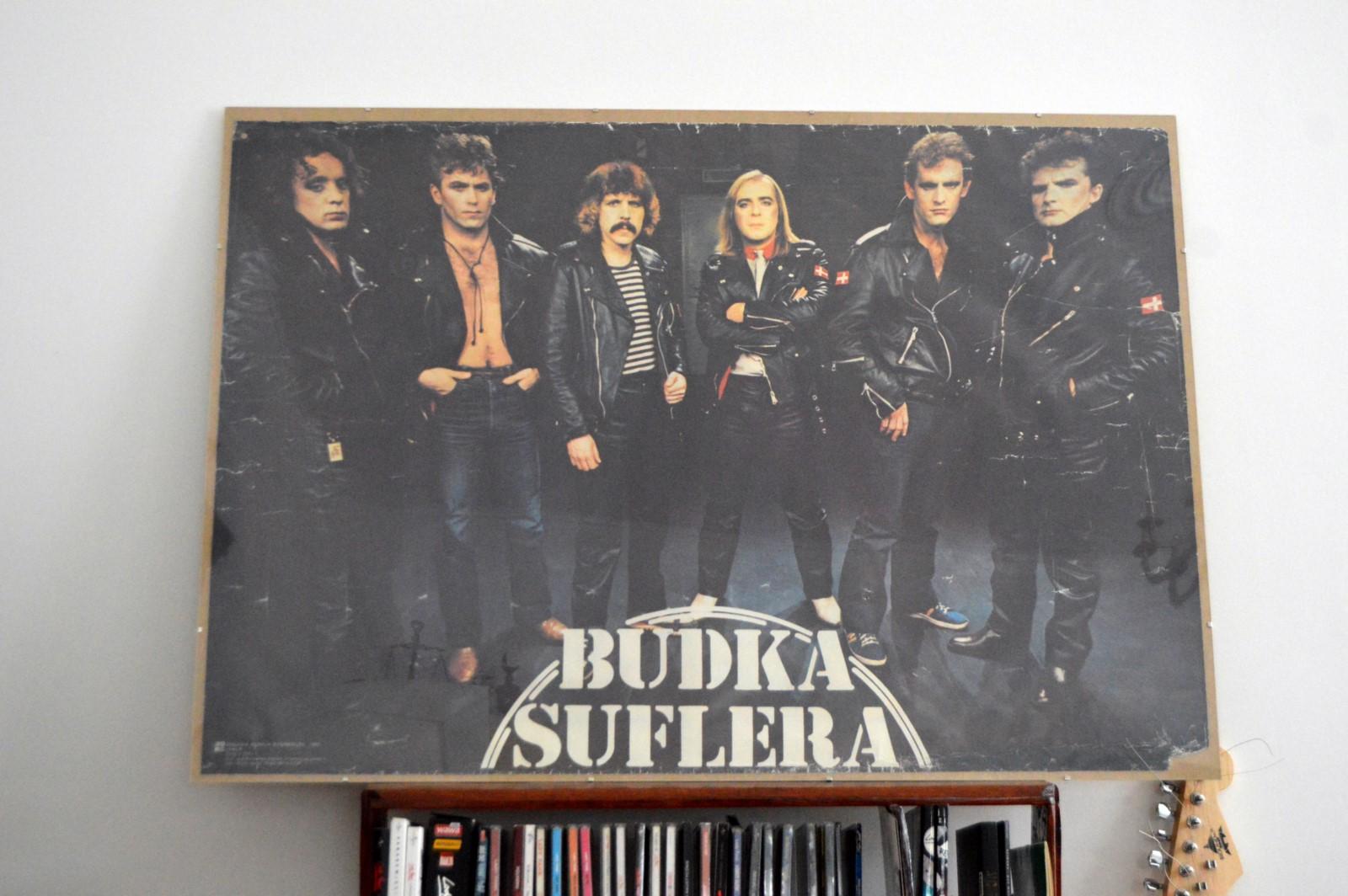 Budka Suflera Plakat 1983r Dobry Stan Rarytas