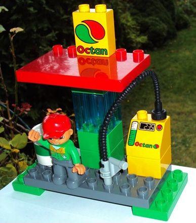 Lego Duplo Stacja Benzynowa Oktan 7353065942 Oficjalne Archiwum