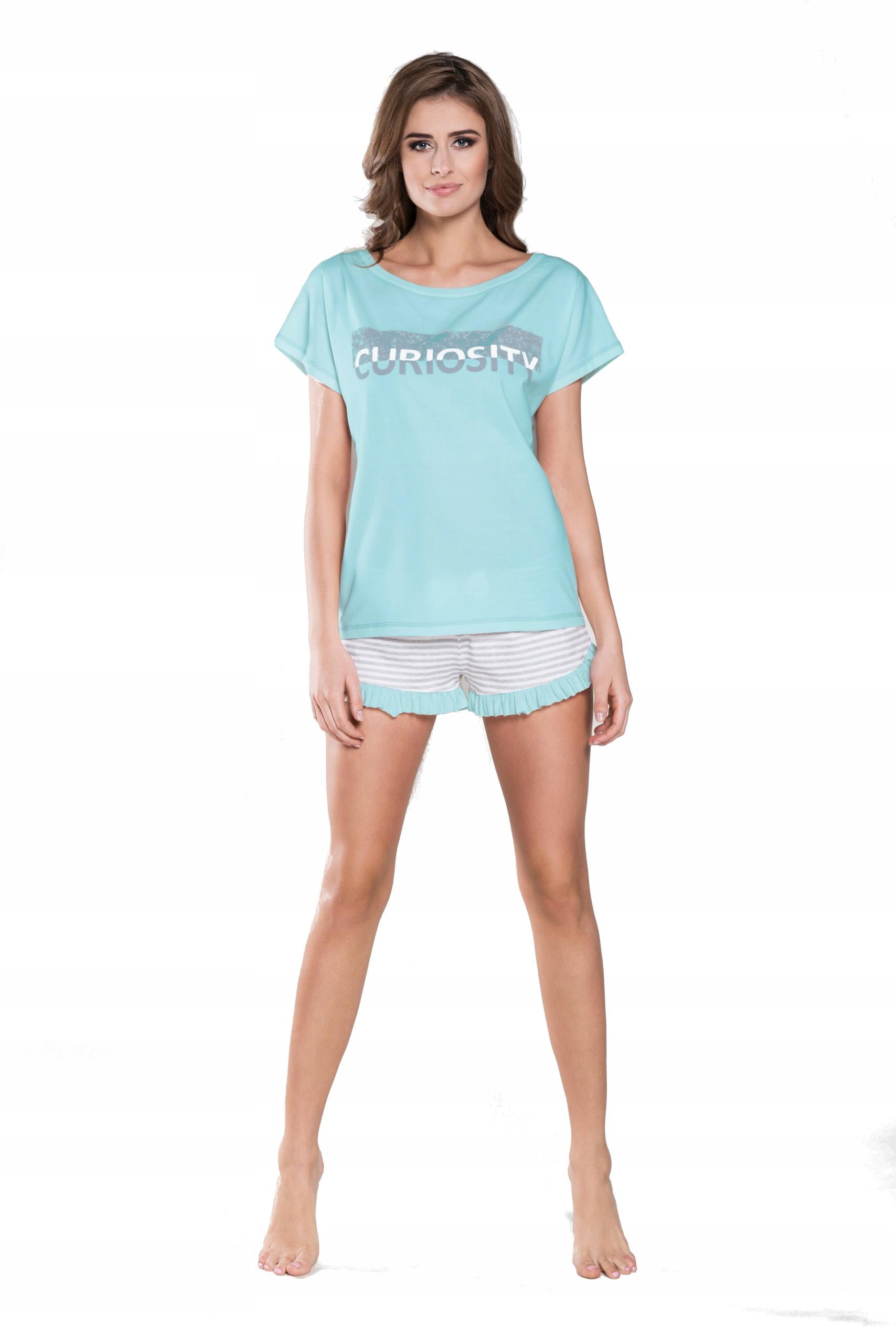 29d159ce1ca14c Wiktoria piżama krótka szorty bawełna r.M - 7440008903 - oficjalne ...