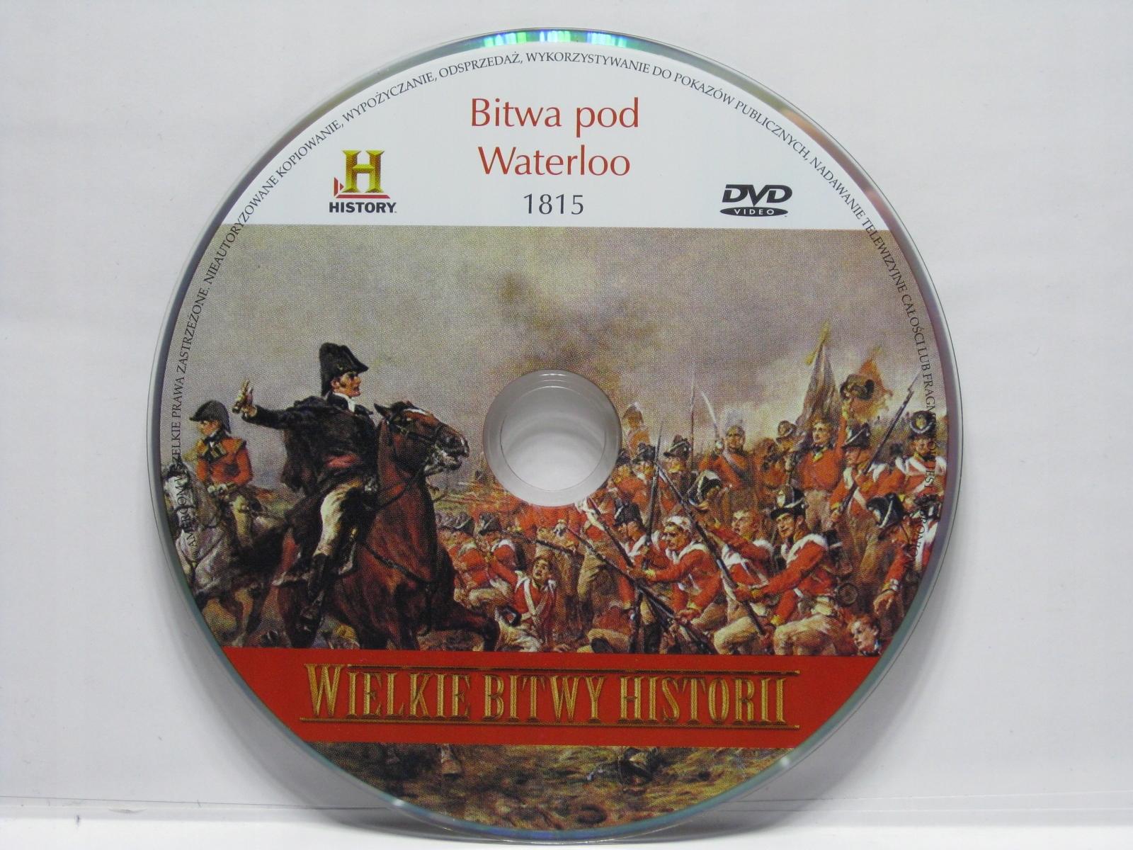 Wielkie bitwy historii - Bitwa pod Waterloo