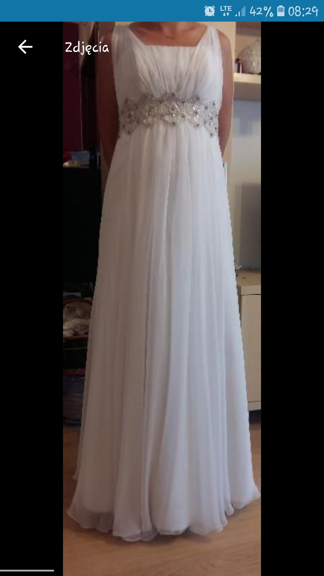 7aac52f18f Suknia ślubna Agnes - 7375124356 - oficjalne archiwum allegro