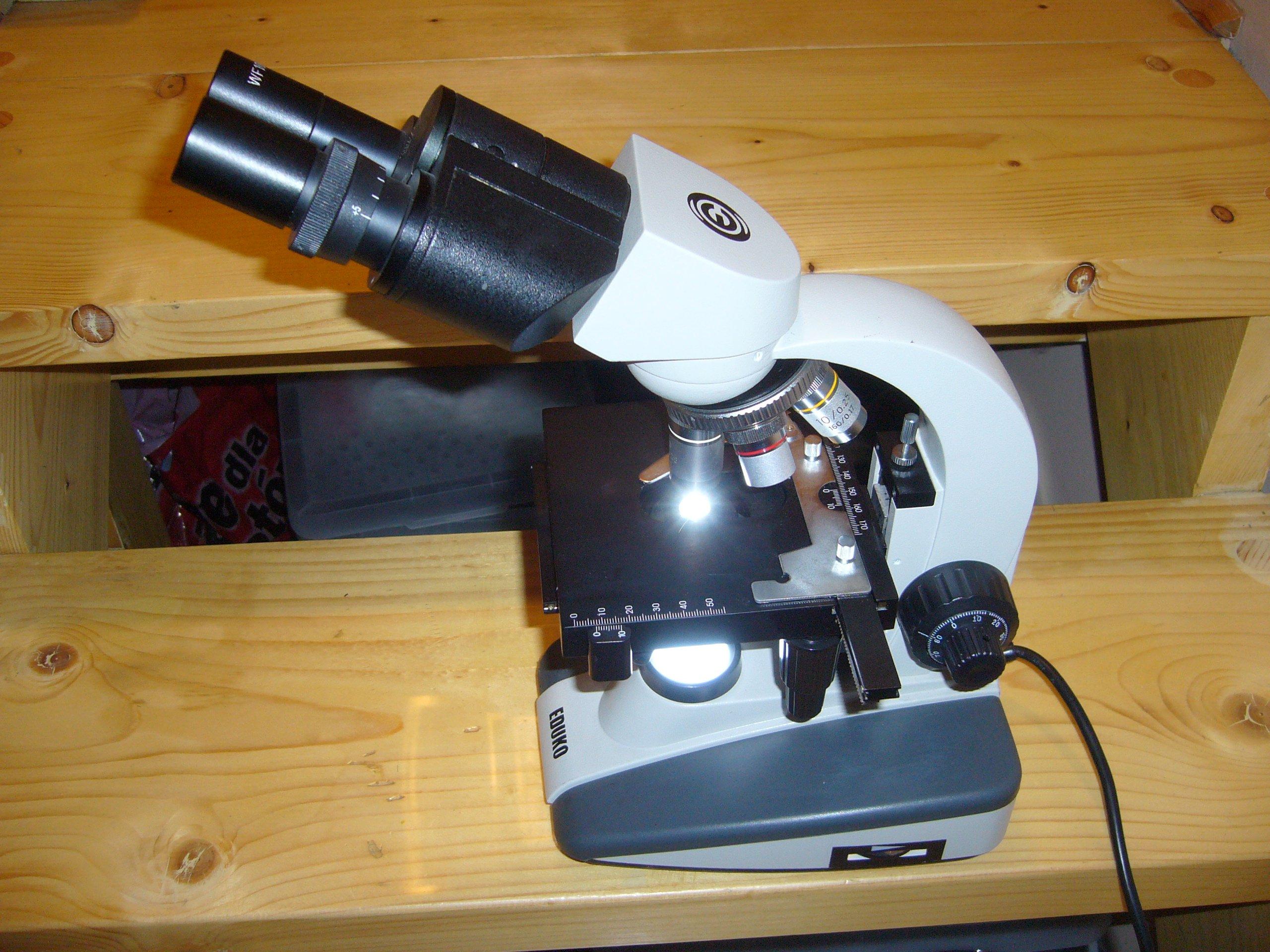 Uzywany mikroskop biologiczny eduko oficjalne