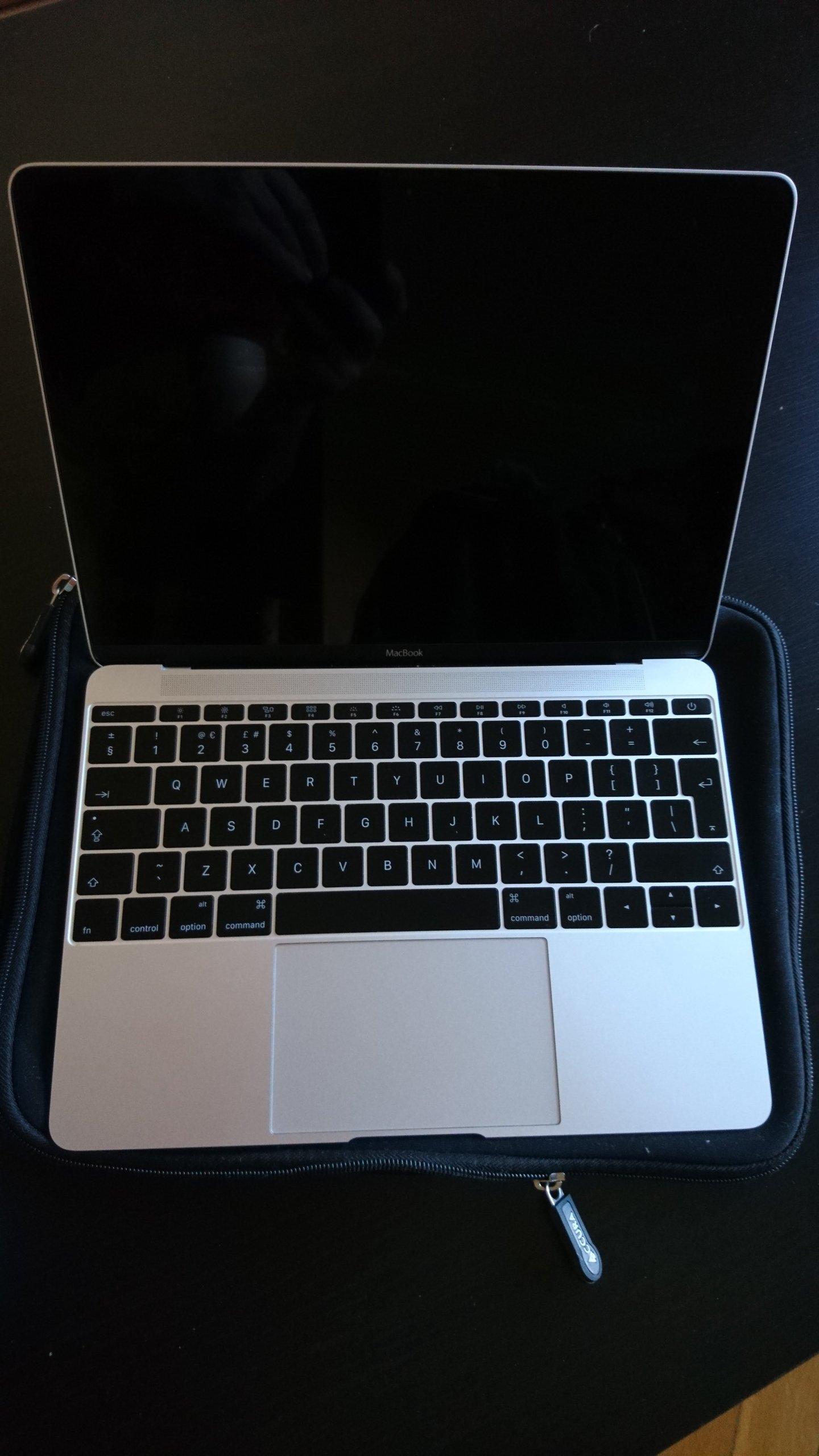 """Macbook Retina 12"""" M-5Y31 8GB 256GB (2015)"""