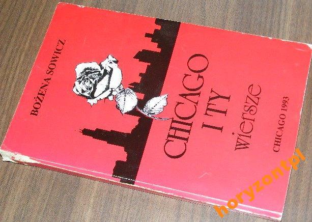 Chicago I Ty Wiersze Bożena Sowicz 7026870037 Oficjalne