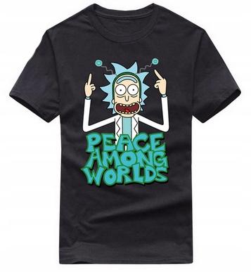 Rick And Morty T-shirt Męski Wiosna UNIKATY M 38