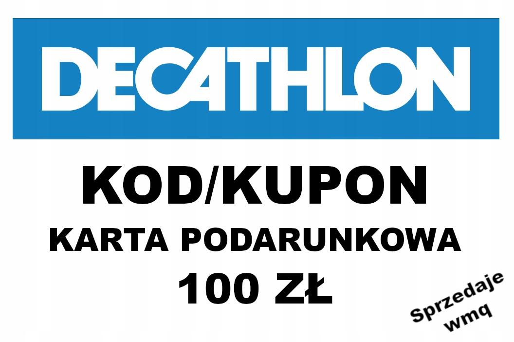 KOD/BON/KARTA PODARUNKOWA - DECATHLON
