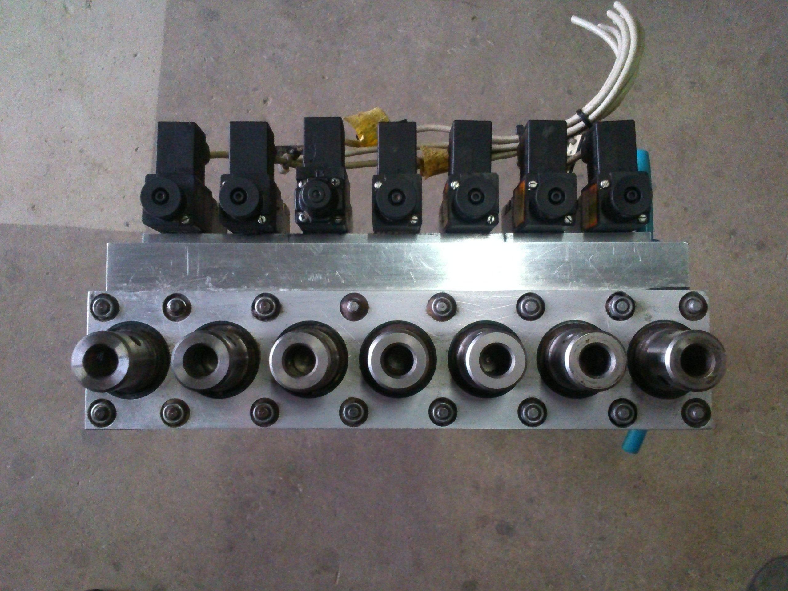 Wszystkie nowe Głowica wiertarska wielowrzecionowa CNC z silnikie - 7351502256 MT47