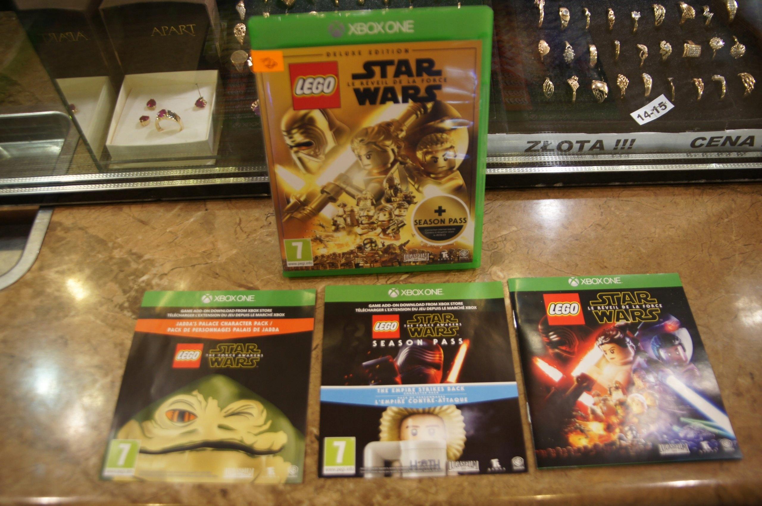 Xbox One Lego Star Wars Przebudzenie Mocy Deluxe E 7405089509