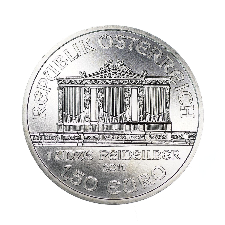 4242NA 1,50 Euro 2011 rok Austria Filharmonicy - 7175920359