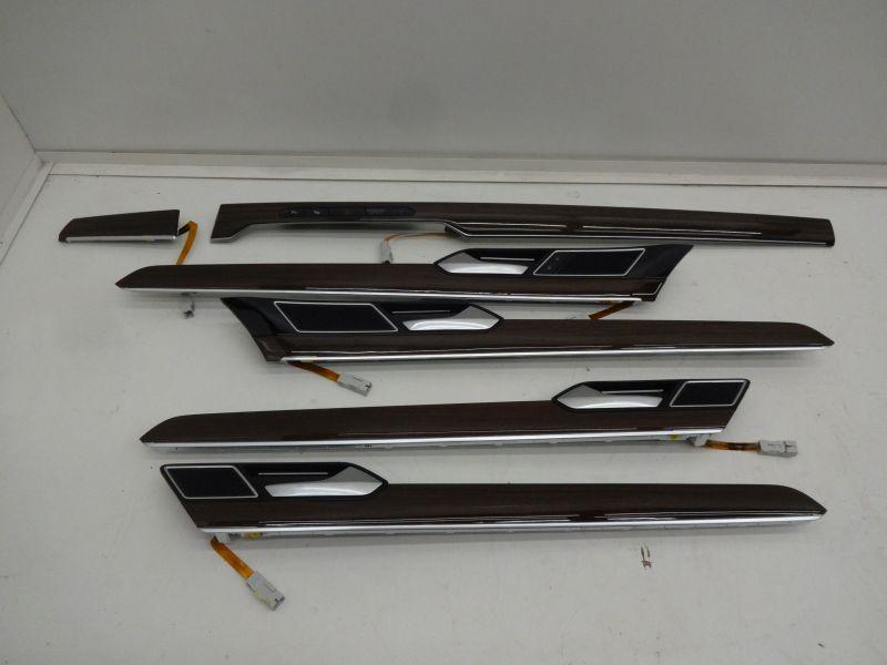 Passat B8 Listwy Wnętrza Ambiente Drewno Komplet