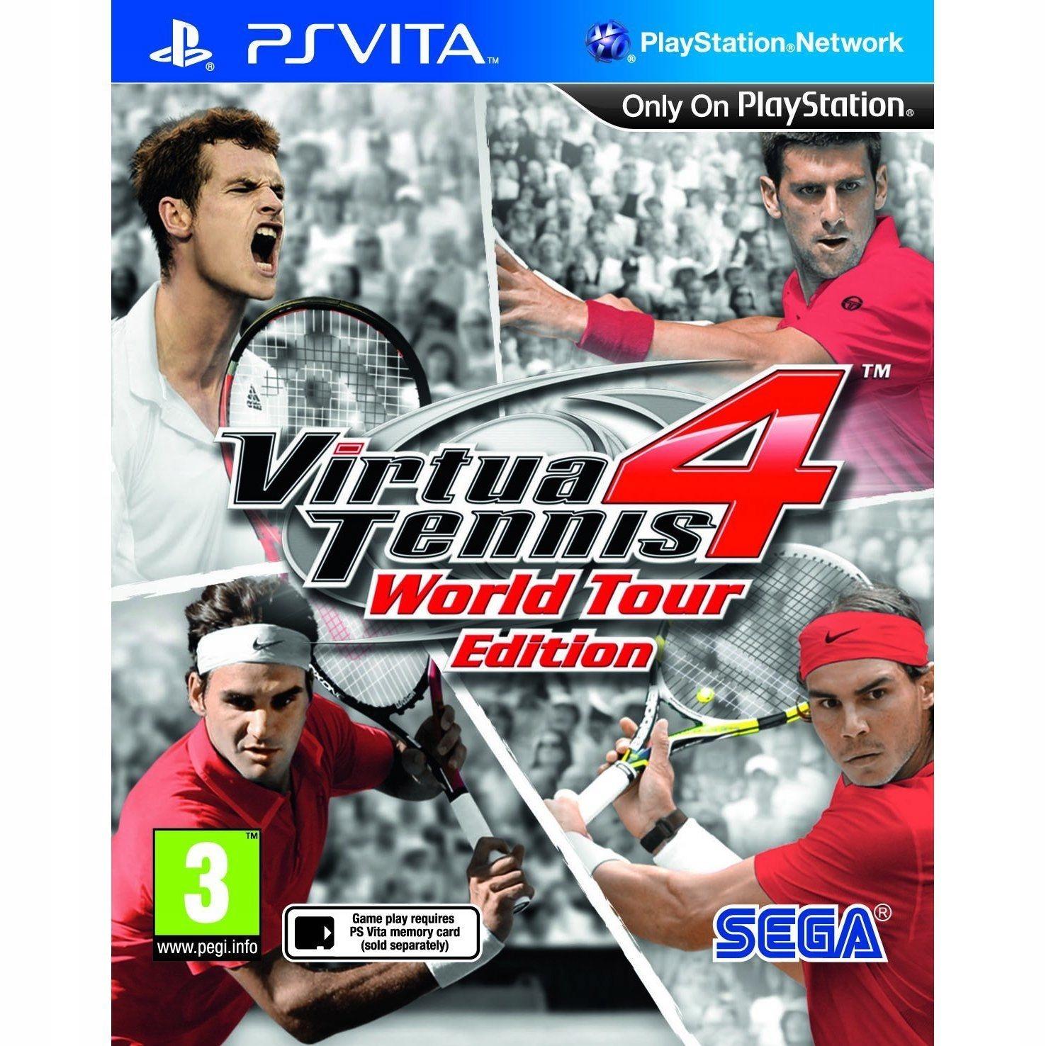 PETEL PS Vita Virtua Tennis 4 World Tour Edition