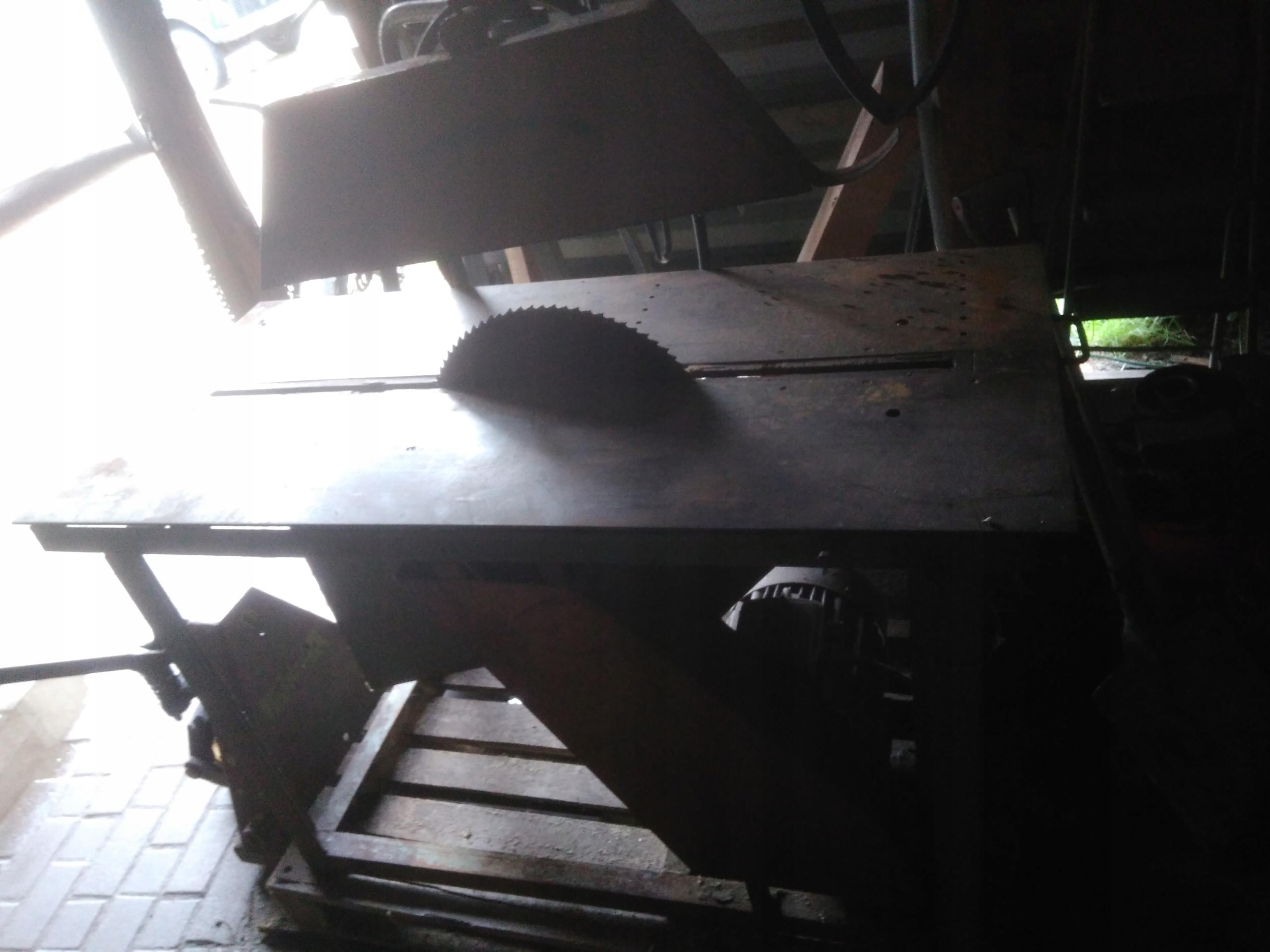 pila tarczowa 7,5kw,tarcza 60cm