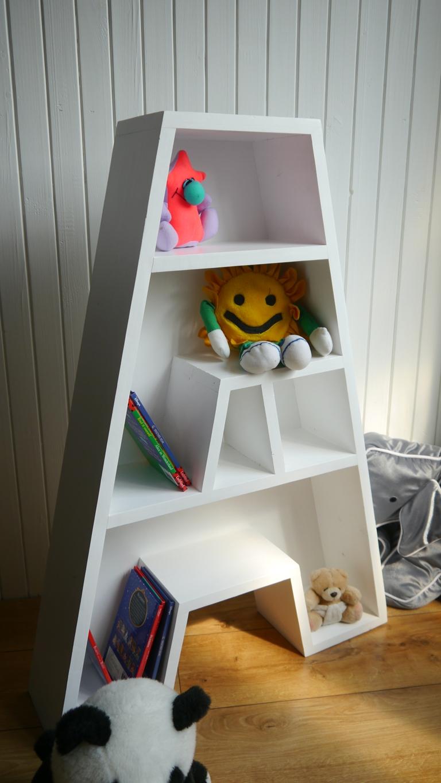 Półka Litera A Skandynawski Styl Pokój Dziecięcy