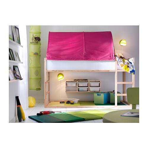 łóżko Piętrowe Dziecięce Kura Ikea 7121730610 Oficjalne