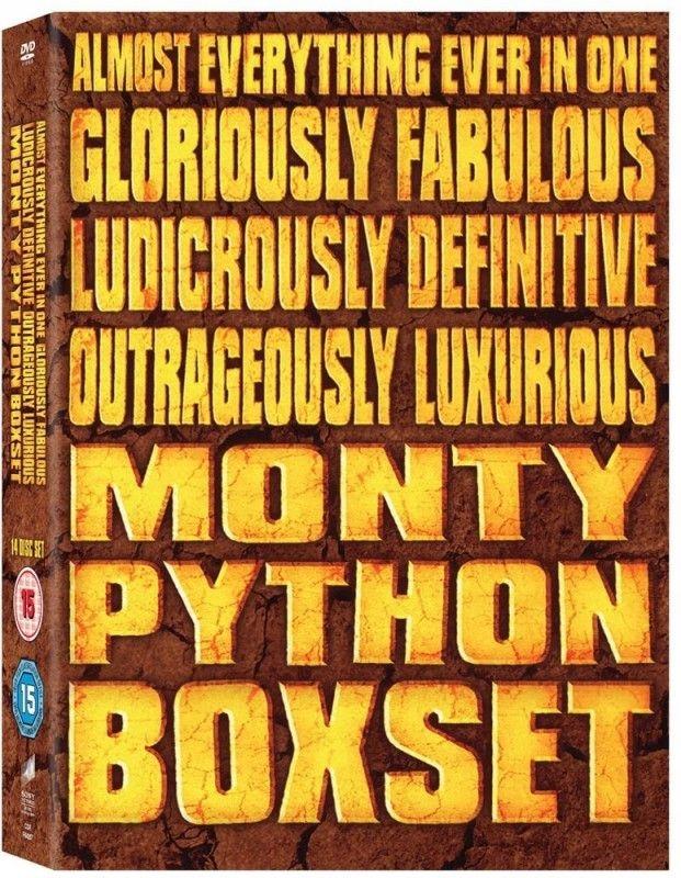 Monty Python [14 DVD] BOX: Latający Cyrk + Filmy