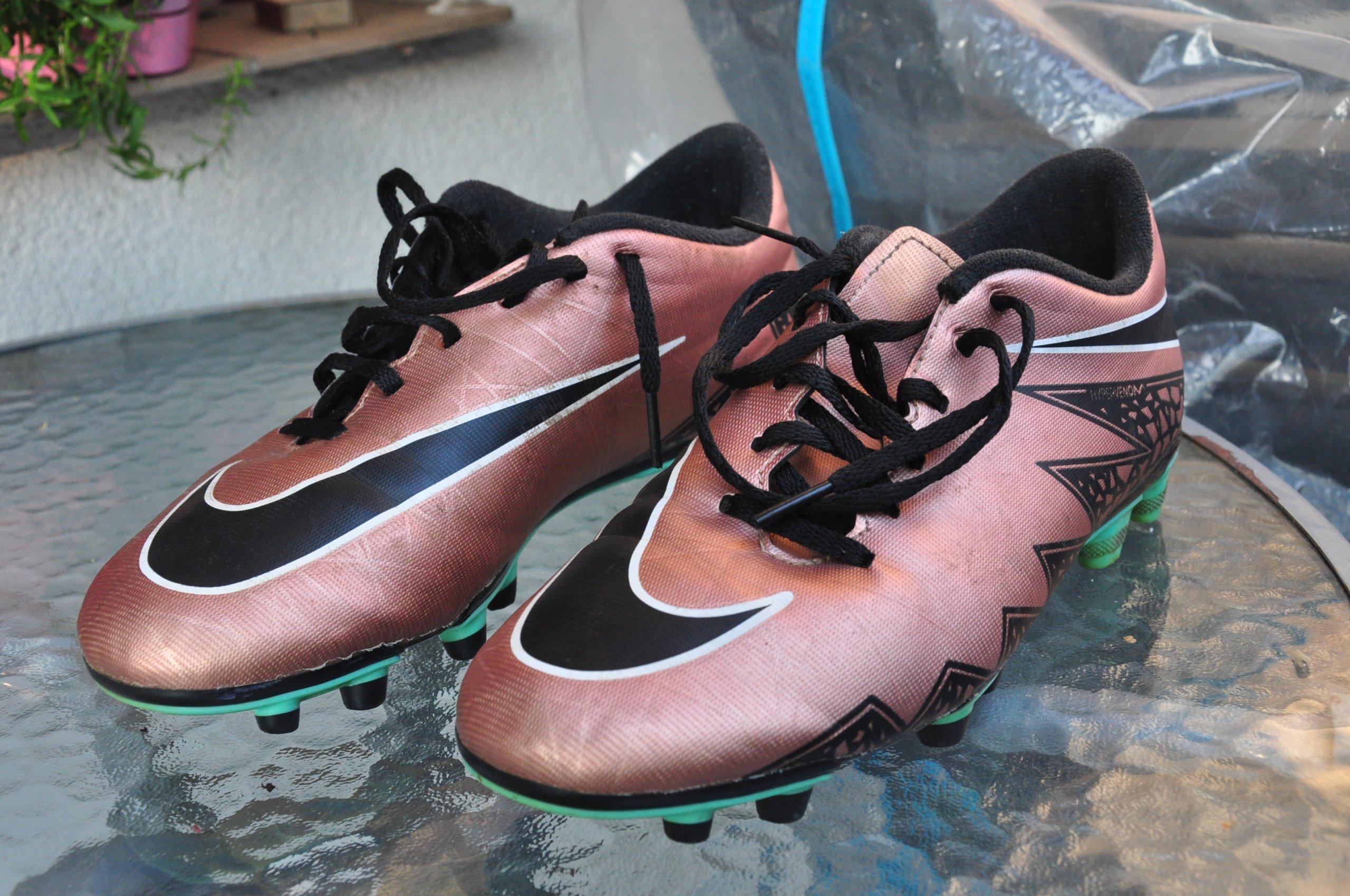 moda nowe style Cena fabryczna Buty Nike Hypervenom FG Korki Złote roz.40 - 7297948769 ...