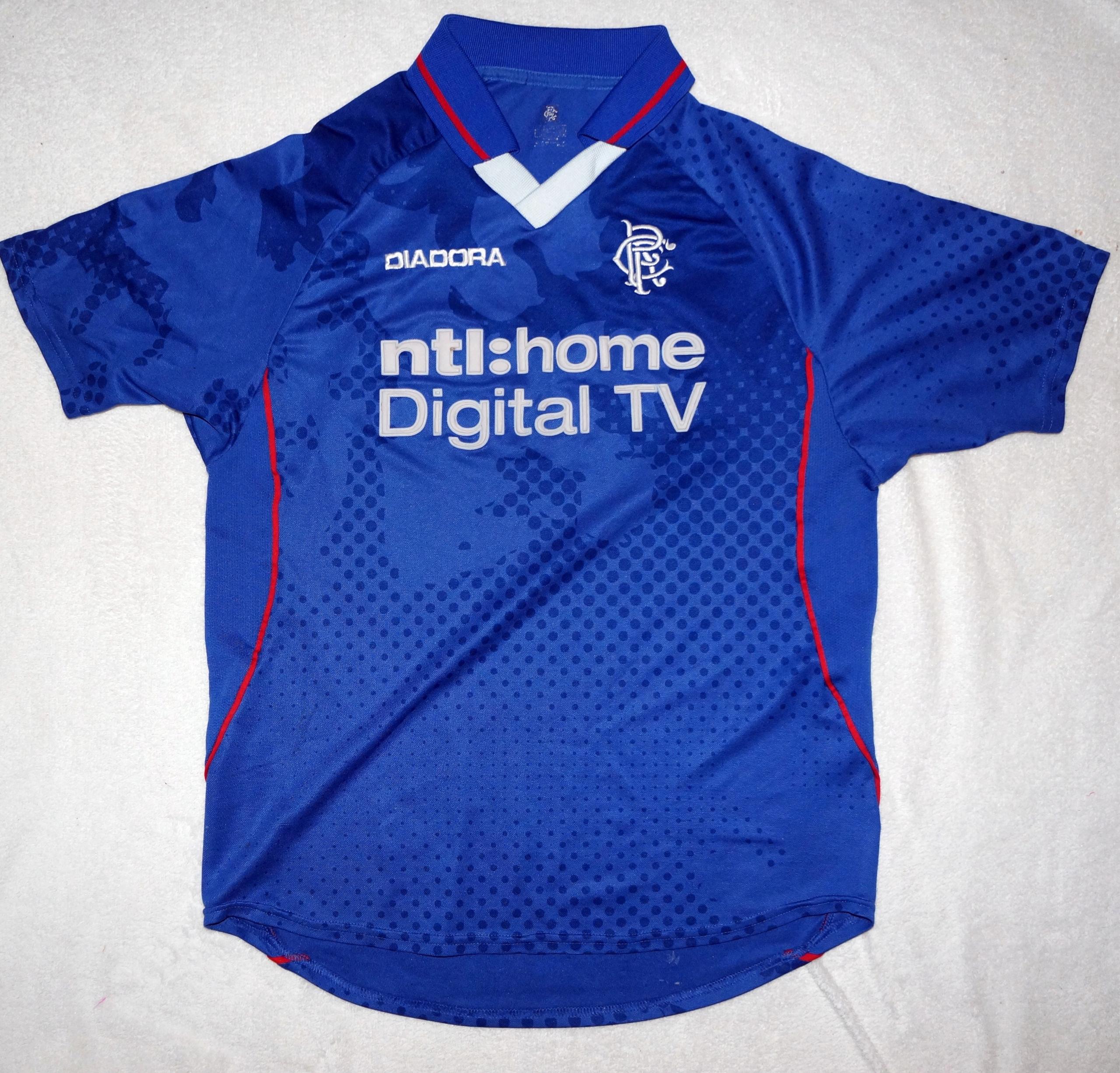 Rangers Diadora Koszulka Męska S