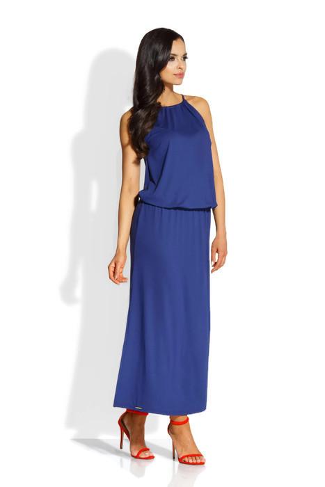 9767d0ff0a Długa sukienka maxi granatowa 36 S Lemoniade - 7342152740 ...