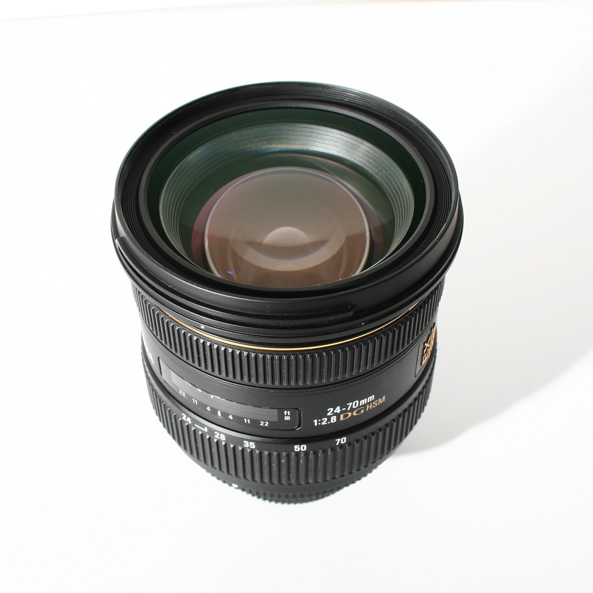 Sigma 24 70mm F28 If Ex Dg Hsm Nikon Komis 7462117449 Oficjalne For F 28