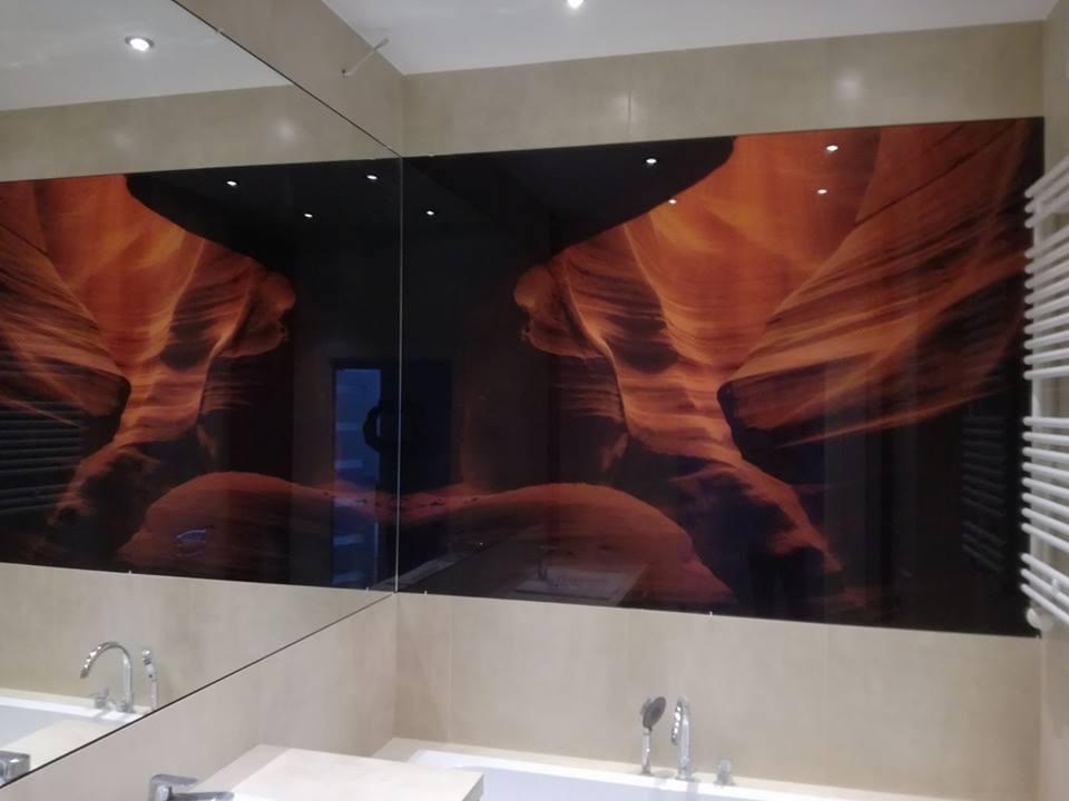 Szkło Z Grafiką Do łazienki 6mm Hart Na Wymiar 7311055359