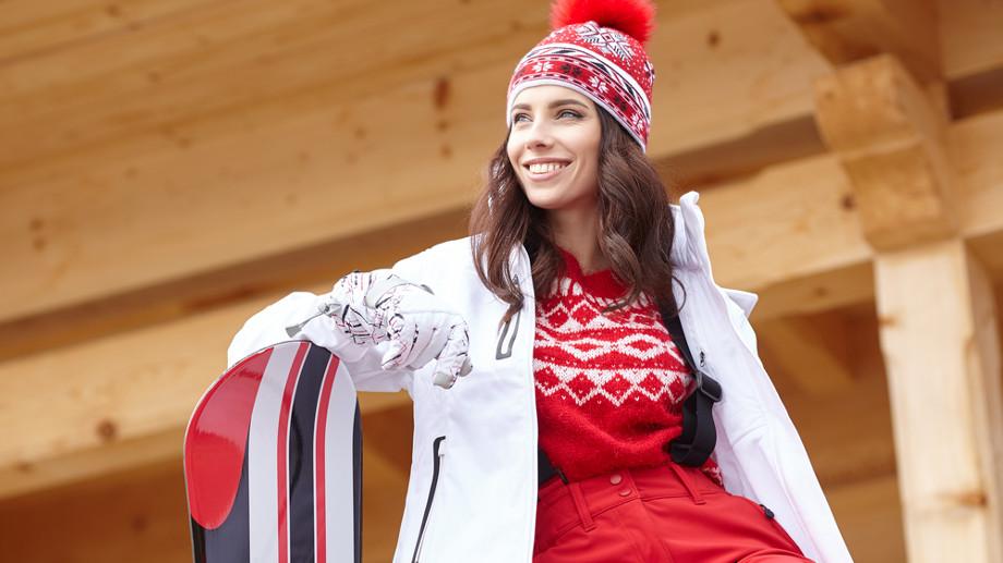 Zimowe ubrania sportowe też mogą dobrze wyglądać