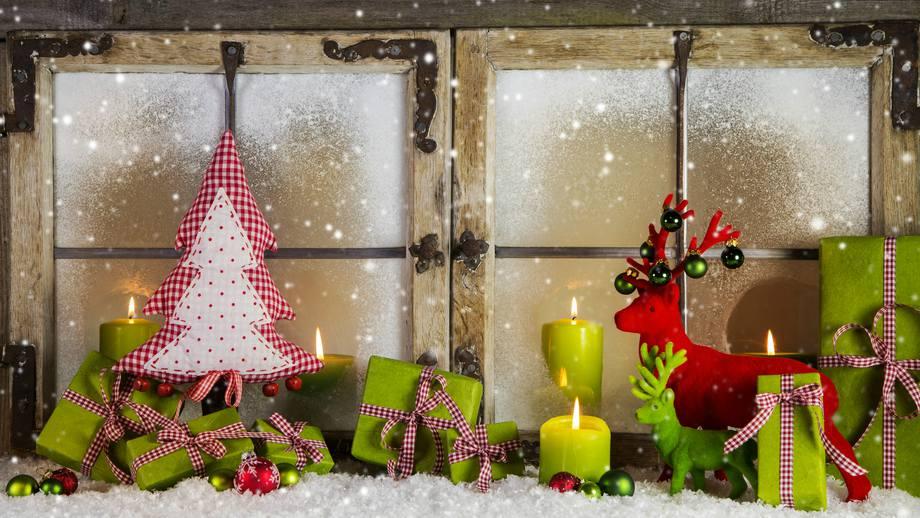 Ozdoby świąteczne Na Okno W Dziecięcym Pokoju Allegropl