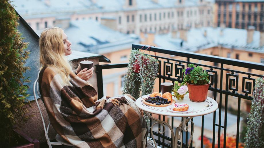 a8fd5b5870d2c3 Jesienny wypoczynek. Koce i pledy do użytku na balkonie - Allegro.pl