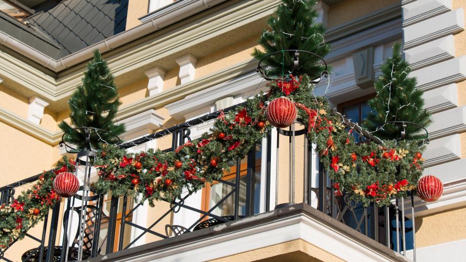 Ozdoby Swiateczne Na Balkon I Do Ogrodu Allegro Pl