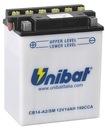 Аккумулятор unibat yb14-a2 magna vf700 vf750 cb750