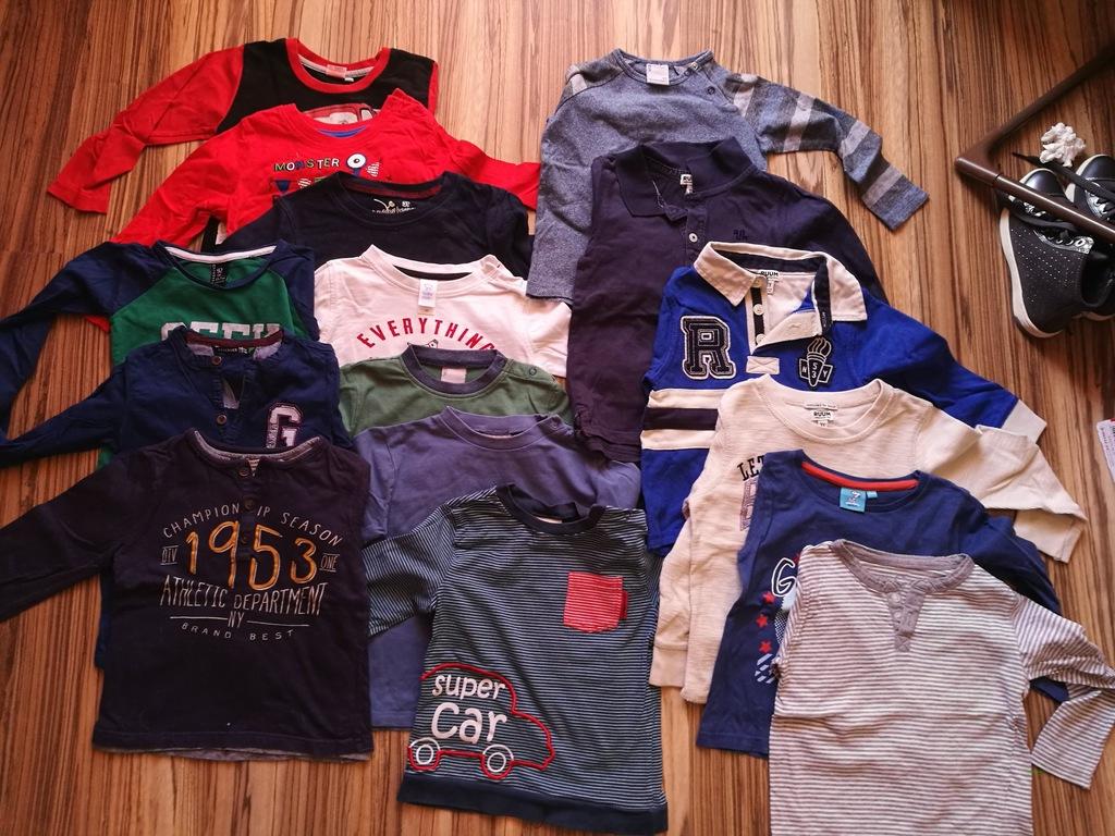 Bluzki dla chłopca 92