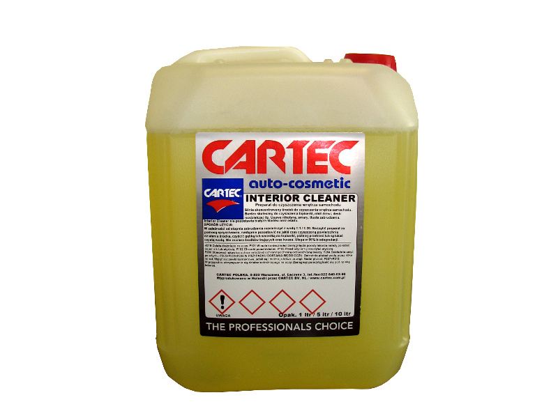 CARTEC INTERIOR CLEANER 5l - do tapicerki +gąbka