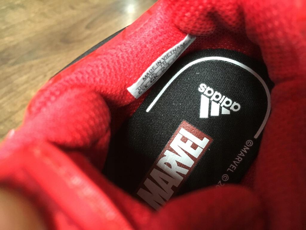 buty adidas Spider Man Marvel roz.23 czerwone