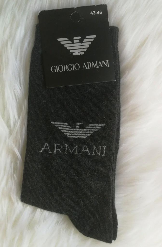 ARMANI - SKARPETKI 43-46