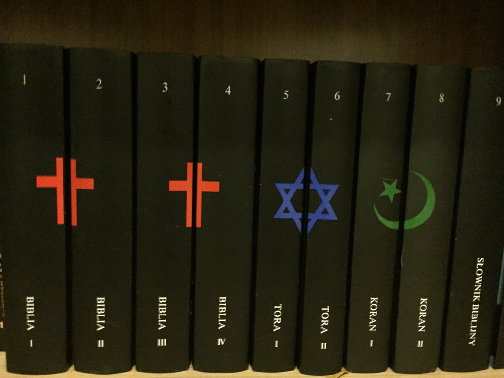 Biblia Tora Koran Słownik Biblijny 1-9 Komplet