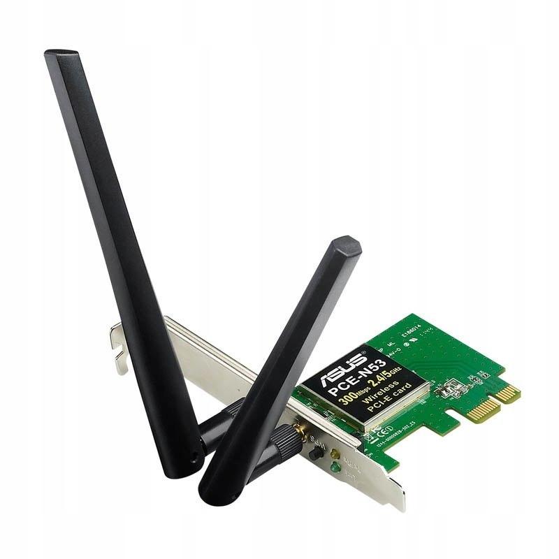 ASUS PCE-N15 N300, Wireless LAN Adapter PCI-E 802.
