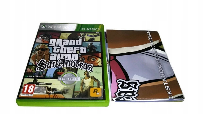 Grand Theft Auto Gta San Andreas Xbox 360 Xbox One 7553181959 Oficjalne Archiwum Allegro