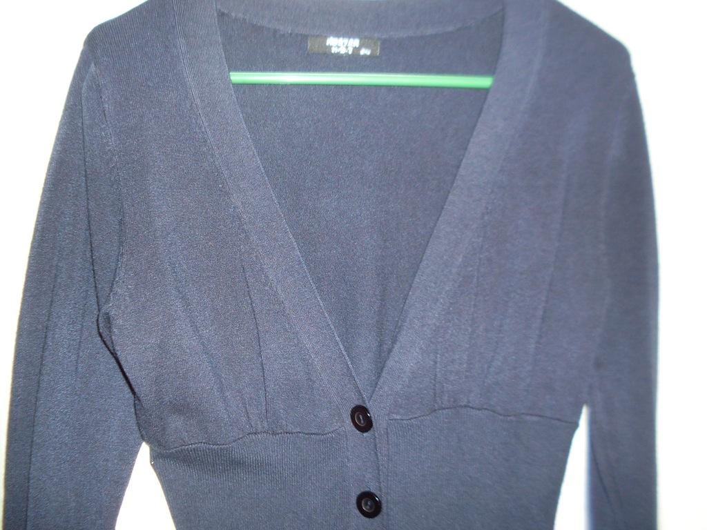 Sweter kaszmir cotton piękny granat 7274949407 oficjalne